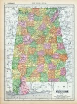 Page 076 - Alabama, World Atlas 1911c from Minnesota State and County Survey Atlas